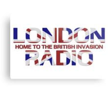 British Invasion - London Radio (Flag) Metal Print