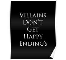 Villains Don't Get Happy Ending's Poster