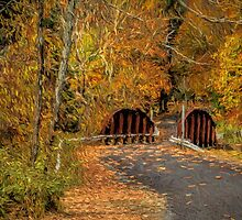 Down The Path of Color by Deborah  Benoit
