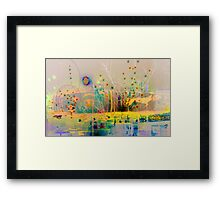 Abstract #4 Framed Print