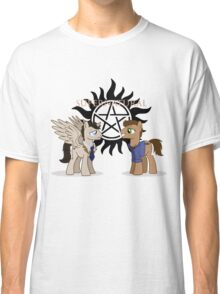 Supernatural - pony style Classic T-Shirt