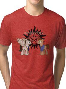 Supernatural - pony style Tri-blend T-Shirt