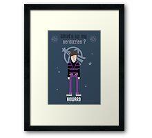 Howard - Big Bang Theory Framed Print