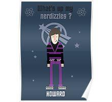 Howard - Big Bang Theory Poster
