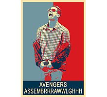 Avengers assembrrrrrawwwwwlghhh Photographic Print