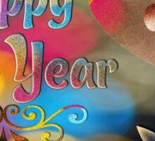 Happy New Year Sticker
