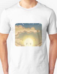 Cute Sky 9- Sunset Unisex T-Shirt