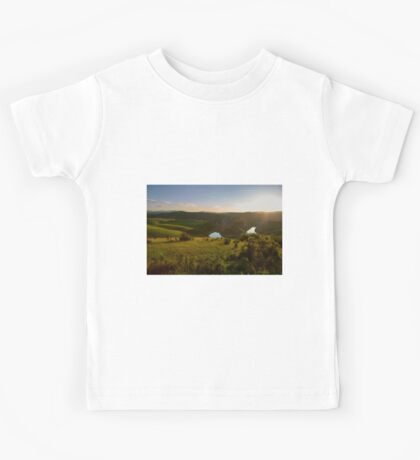 Sunset over Uvac Canyon in Serbia Kids Tee