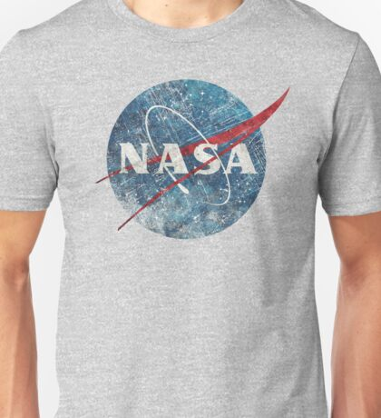 NASA Space Agency Ultra-Vintage Unisex T-Shirt
