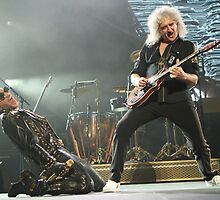 Queen & Adam Lambert onstage by InsideEdge