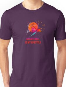 Basketball is my lifestyle Unisex T-Shirt