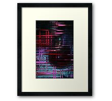 Donuts Abstract 05 Framed Print