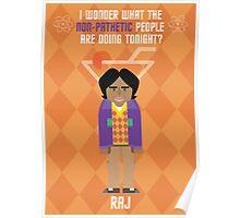 Raj- Big Bang Theory Poster
