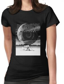 One Punch Man hero Womens Fitted T-Shirt