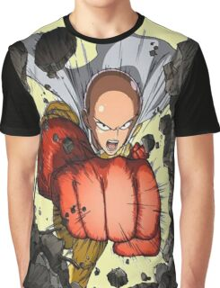 One Punch Man Super Punch Graphic T-Shirt