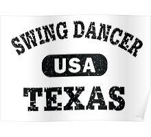 Swing Dancer Texas Poster