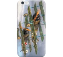 Two Little Fokkers - HDR - Dunsfold 2014 iPhone Case/Skin