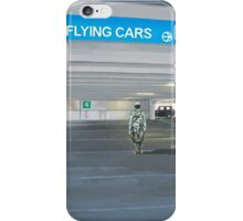 Flying Cars to the Right iPhone Case/Skin