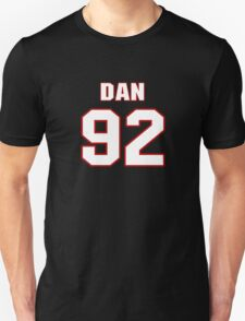 NFL Player Dan Williams ninetytwo 92 T-Shirt