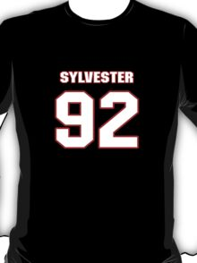 NFL Player Sylvester Williams ninetytwo 92 T-Shirt