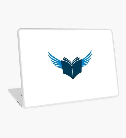 Zealot Script Flying Book Laptop Skin