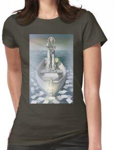 iamamiwhoami - fountain Womens Fitted T-Shirt