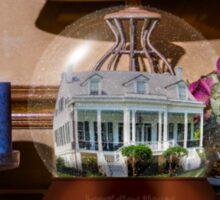 Longfellow House Snow Globe Sticker