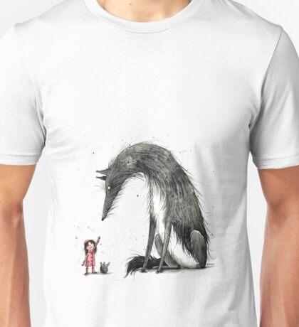 Rotkäppchen und der Wolf - Little Red Riding Hood Unisex T-Shirt