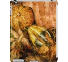 Gourds and Leaves Of Autumn iPad Case/Skin