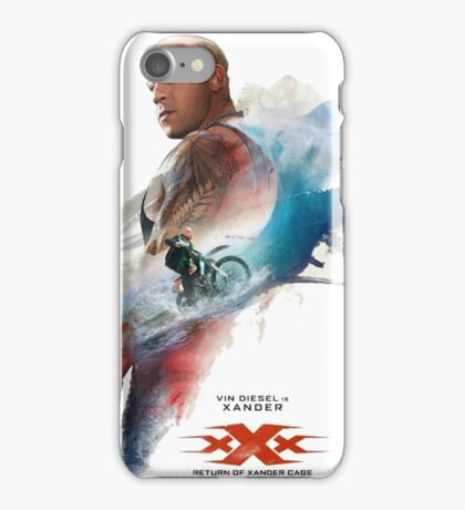 Return To Xander Cage iPhone Case/Skin