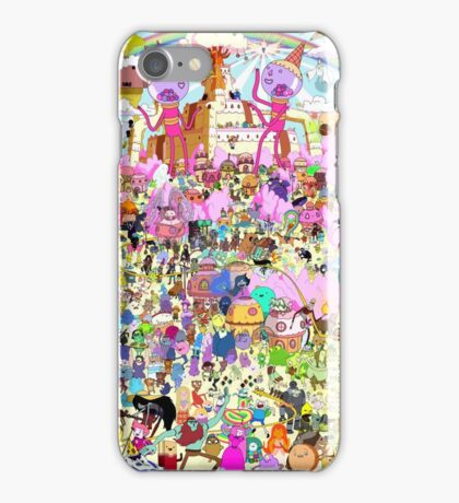 Adventure Time - Where's Finn and Jake iPhone Case/Skin