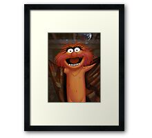 Muppet Maniacs - Animal as Buffalo Bill Framed Print