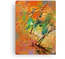 Autumn's Rush Canvas Print