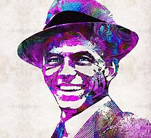 Frank Sinatra Art - Pink Sinatra - By Sharon Cummings by Sharon Cummings