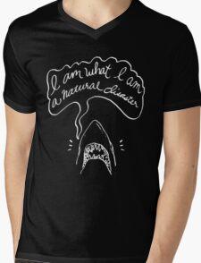 The Shark Tee Inverted Mens V-Neck T-Shirt
