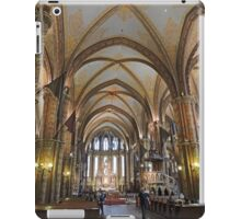 Matthias Church, Budapest, Hungary iPad Case/Skin