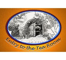 Entry to the Tea Room Photographic Print
