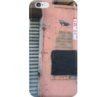 NYC Harlem Signs iPhone Case/Skin