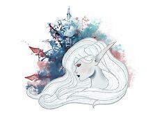 Lady Sylvanas Windrunner Splashart by NoodlesForNerds