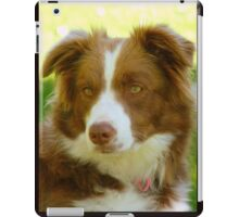 Agility & Intensity Are My Middle Names!! - Border Collie - NZ iPad Case/Skin