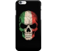 Italian Flag Skull iPhone Case/Skin