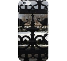 Conservatory Gardens Gates iPhone Case/Skin