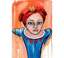Who's Queen Photographic Print
