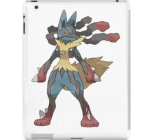 Mega Evolution Lucario iPad Case/Skin