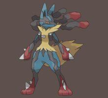 Mega Evolution Lucario Kids Clothes