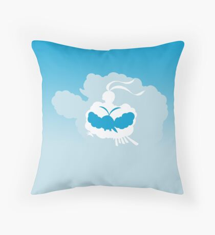 Mega Altaria Evo Throw Pillow