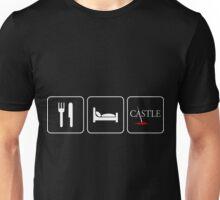 Food Sleep Castle Unisex T-Shirt
