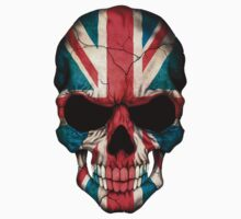 British Flag Skull  by Jeff Bartels