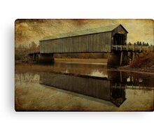 Starkey Covered Bridge Canvas Print