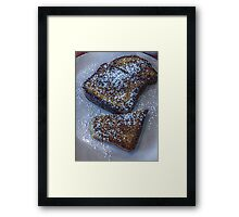 Who Decided French Toast With Sugar is Breakfast and Not Dessert? Framed Print